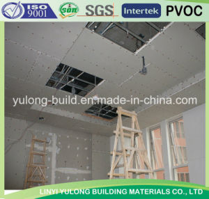 China Top Quality Gypsum Board /Regular Gypsum Board pictures & photos