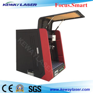 Enclosed Metal Fiber Laser Marking Machine 20W 30W 50W pictures & photos