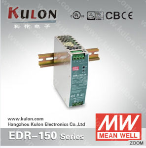 Mean Well Power Supply EDR-150 24V Indoor DIN Rail Power Supply