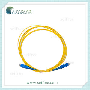 FTTH Sc Fibre Optics Cable Patchcord pictures & photos