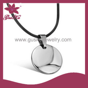 Simple and Stylish Health Tungsten Necklace (2015 Gus-Tupn-003)