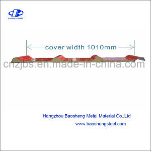 20mm Thick One Layer Metal PU Sandwich Panel pictures & photos