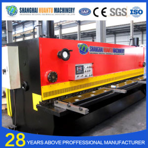 QC12y CNC Hydraulic Steel Plate Shearing Machine pictures & photos