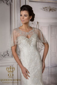 Fixed Bead Wedding Dress Jacket