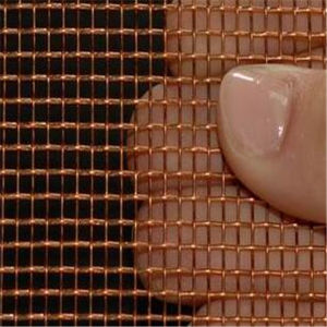 Industrial Filter Red Copper Screen Wire Mesh pictures & photos