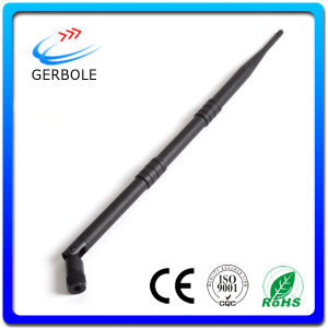 High Gain Protable 9dBi WiFi Antenna 2.4GHz Indoor Whip Antenna
