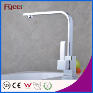 Single Handle Kitchen Water Mixer Brass Sink Tap Faucet (QH0718-1) pictures & photos