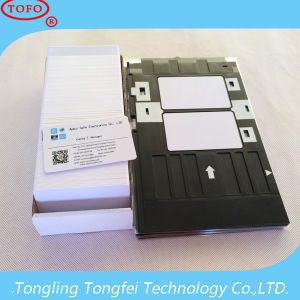 High Quality Cr80 PVC Inkjet Printing Plastic Blank Card pictures & photos
