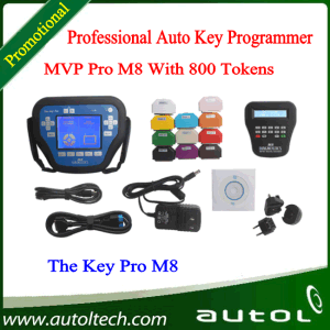 2016 Wholesale Professional Auto Diagnostic Locksmith Tool T Code Key Programmer MVP PRO M8 Key Programmer pictures & photos