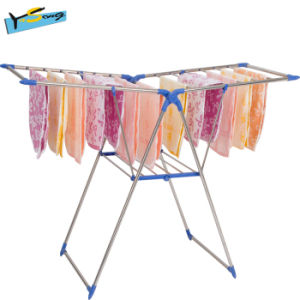 Durable Floor Folding Clothes Hanger Airfoil Airer