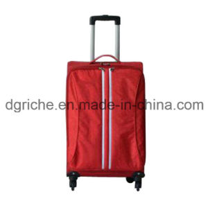 Red Color Light Weight Soft Luggage