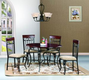 2275 Metal Dining Set pictures & photos