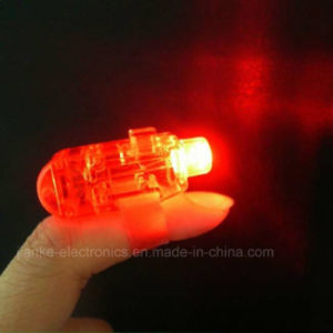 LED Party Bright Finger Torch with Logo Printed (4012)