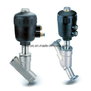 Stainless Steel Sanitary Angle Seat Valve