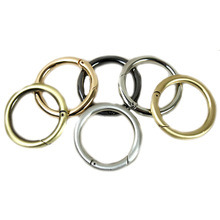 Fashion High Quality Metal Handbag Round Ring Carabiner pictures & photos