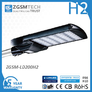 GS CB Listed 200W Street LED Lights with Photocell pictures & photos