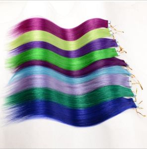 The Characteristics of Fashion Color Invisible Hair Tape Hair Extension