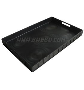 Antistatic PCB Tray (3W-9805134) ESD Tray Anti-Static Tray Conductive Tray pictures & photos