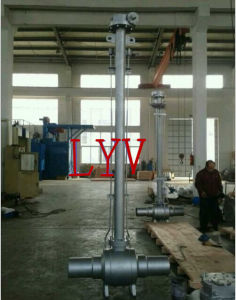 API 6D Fully Welded End Ball Valve with Extension Stem