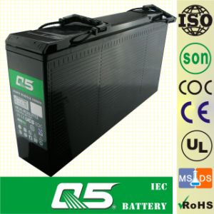 12V150 Size (customized capacity 12V120AH) Front Access Terminal GEL Solar Telecom Communication Battery Power Cabinet Battery Telecommunication Solar Prrojects pictures & photos