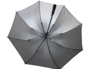 27inch 8 Panels Automatic Open Fiberglass Golf Umbrella (GU001) pictures & photos