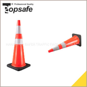 90cm Flexible PVC Cones with Black Base pictures & photos
