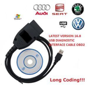 Diagnostic Cable VAG Kkl C-O-M 16 8 0 for Audi/Seat/VW Cars