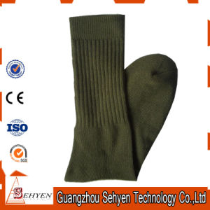 Men Army Wool Socks Army Crew Socks pictures & photos
