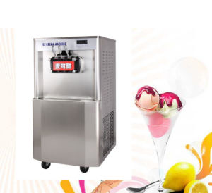1. Stainless Steel High Expansion Rate Soft Ice Cream Machine Mk-938