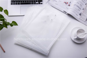 Clear A4 Vertical Envelope Bag with Rope