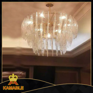 Decorative Glass Hotel Chandelier Lights (KAG0002) pictures & photos
