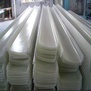 Fiberglass Reinforced Corrugated Plastic Roofing Sheets for House