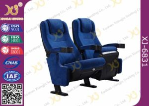 High Back Fabric Auditorium Cinema Home Theater Seating For