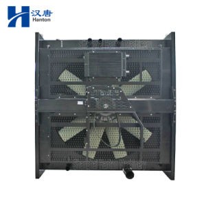 Cummins QSK60-G diesel motor engine cooler radiator for generator set pictures & photos