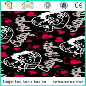 100% Polyester Oxford 600d Colorful Heart Printed Fabric for School Bags pictures & photos