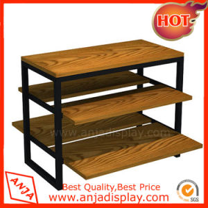Wood Display Rack Wooden Display Table pictures & photos