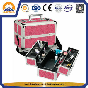 Multi-Functional Aluminium Beauty Case for Travel Makeup (HB-2208) pictures & photos
