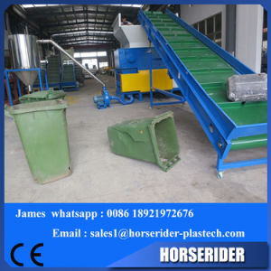 Plastic Barrel Shredder and Crusher Two in One Machine pictures & photos