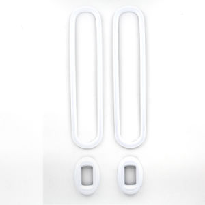 White Window Regulator Cover Mini Cooper Countryman R60 (4CS/Set)