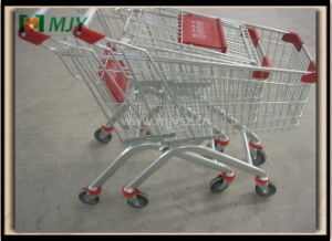60 Liters Budget Supermarket Trolley Mjy-60b-PU pictures & photos