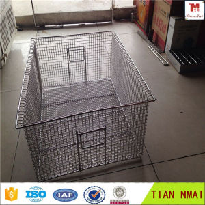 Stainless Steel 304 Hospital Disinfection Wire Mesh Basket/Wire Mesh Tray Factory Price
