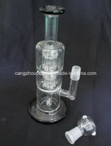 AAA 002 Online Customized Glass Smoking Water Pipe with Percolator
