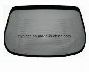 Car Rear Windshield Tempered Glass for Toyota pictures & photos