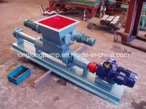 Xinglong Open Hopper Screw Pump for Highly Vicous Medium or Liquid with High Solid Content pictures & photos
