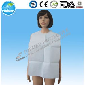 White Dental Bib Disposable Medical Tissue Disposable Dental Bib pictures & photos