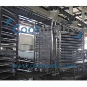 Stainless Steel Belt Spiral Freezer Machine/Spiral Type Freezer pictures & photos