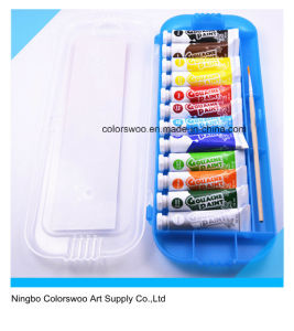 12*10ml Non Totic Gouache Color Paint in Aluminum Tube pictures & photos