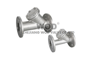DIN Y Type Strainer (FLANGE END) Pn16 pictures & photos