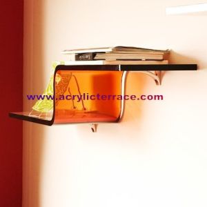 Acrylic Wall Shelf (5WS330001)