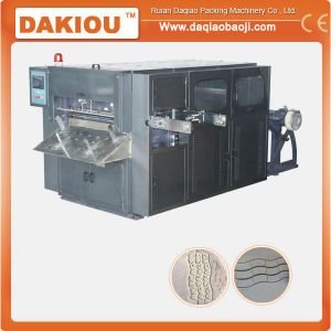 High Speed Paper Cup Fan Die Cutting Machine